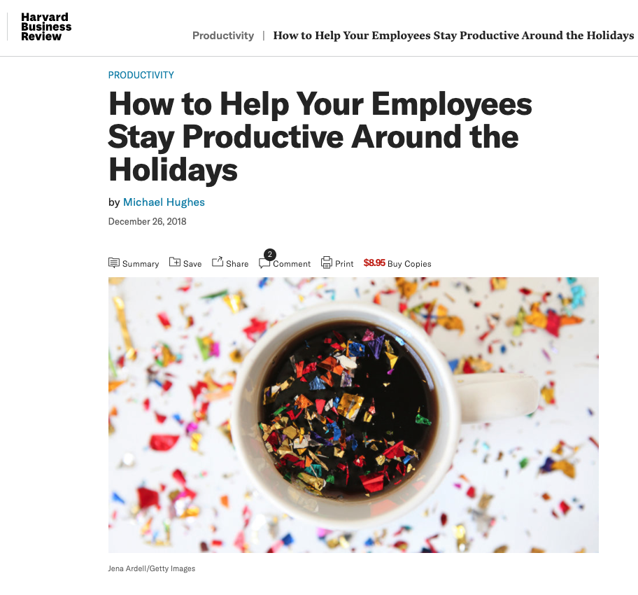 HBR Article